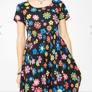 Delia's flower power dress